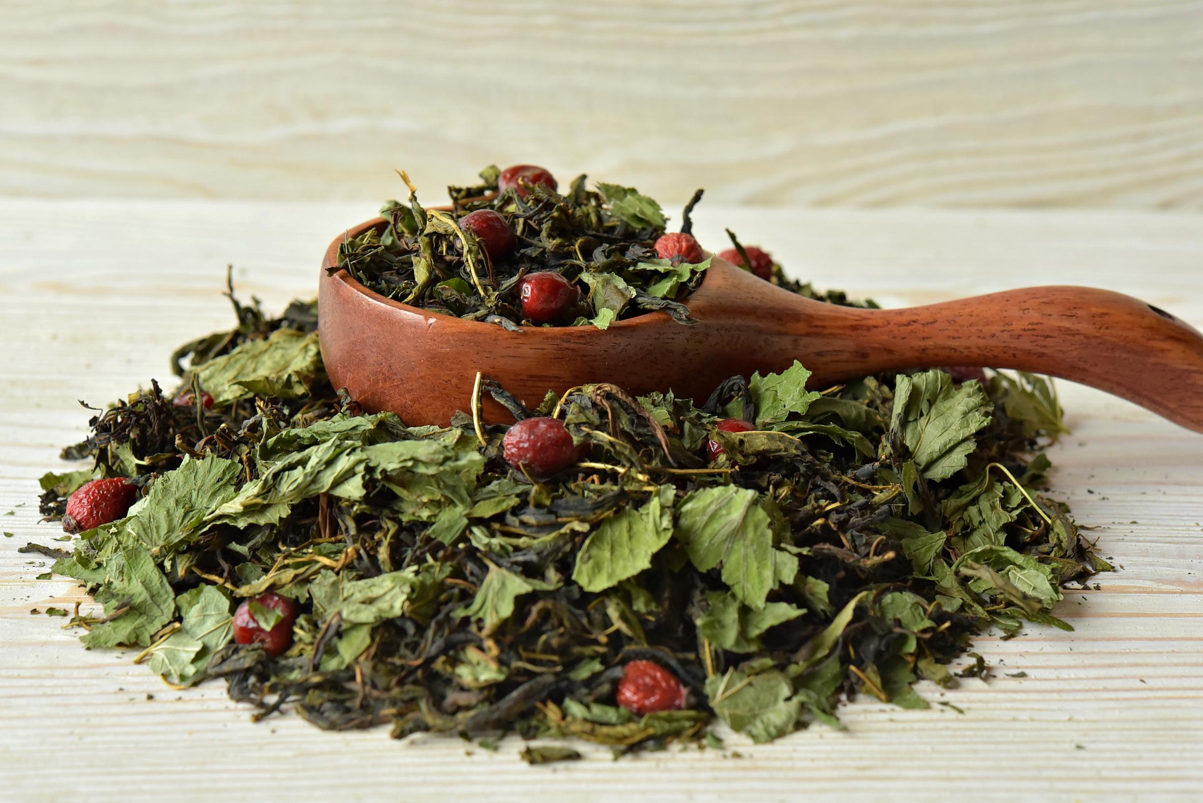 чай со смородиновым листом