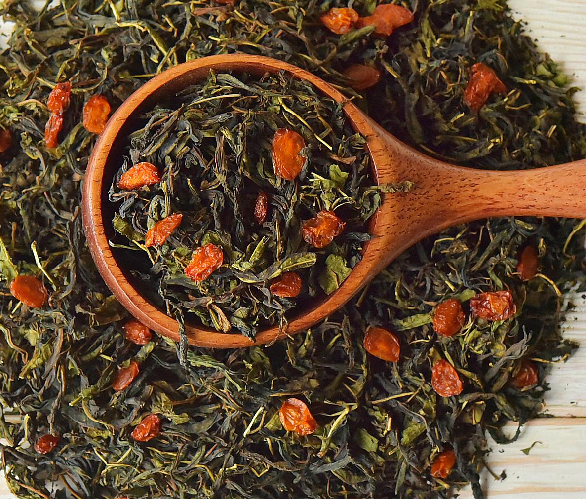 ароматный и полезный чай из трав